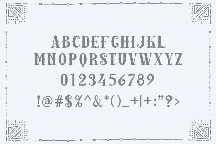 Amazinga Typeface - Free Font of The Week Design0