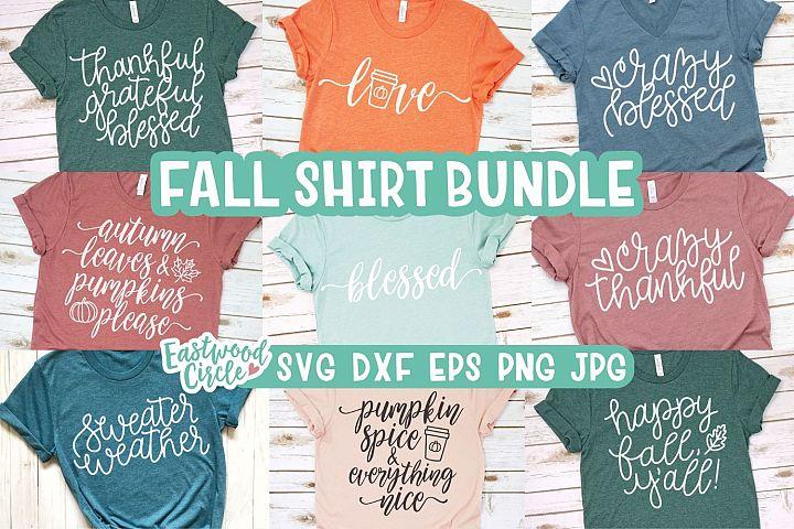 Fall SVG Bundle - Cut Files for Shirts