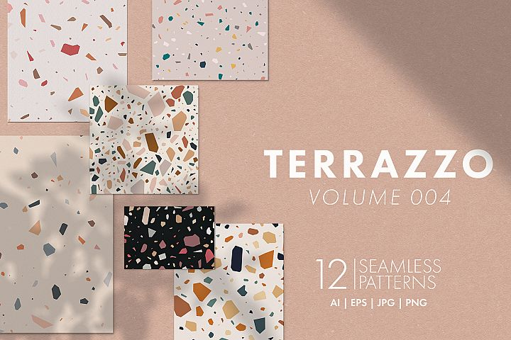Terrazzo Seamless Patterns Vol. 004