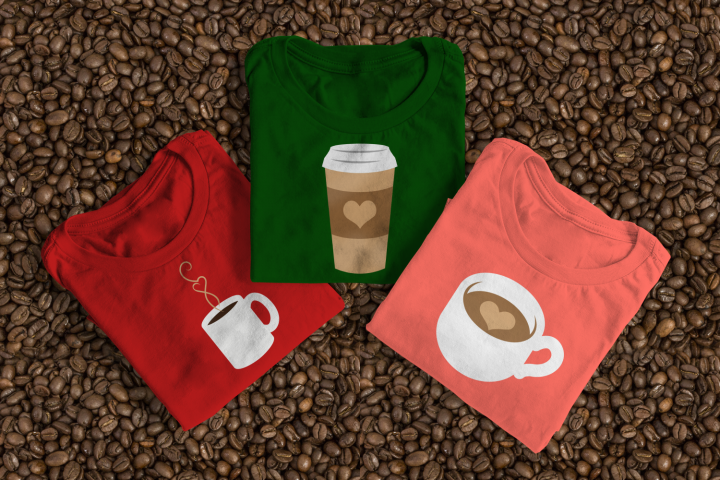 Coffee Lover Set SVG File Cutting Template