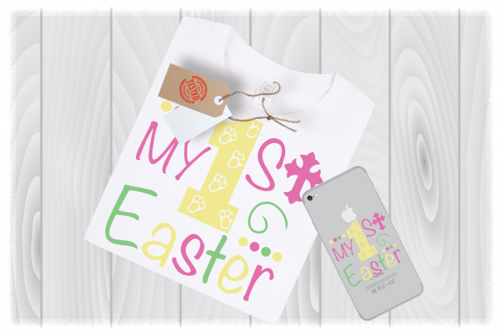 Easter SVG Files, My 1st Easter SVG, My First Easter Svg