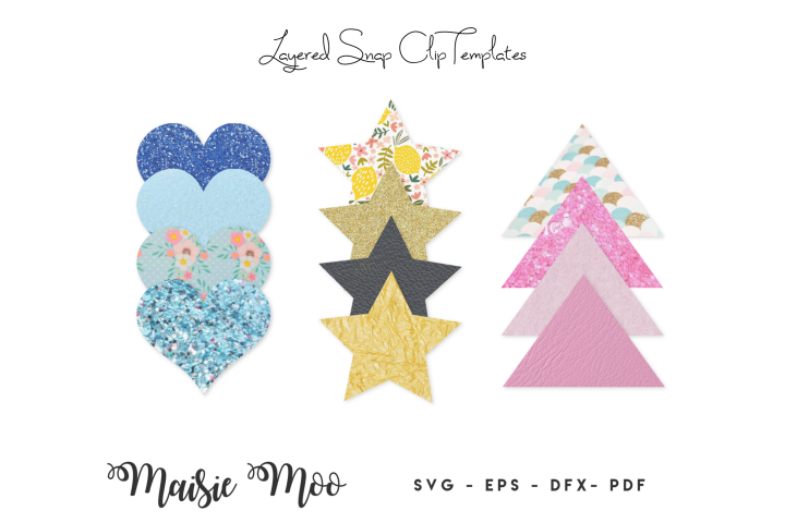 Snap Clip SVG , Snapclip Template, Bow Template, Bow SVG,