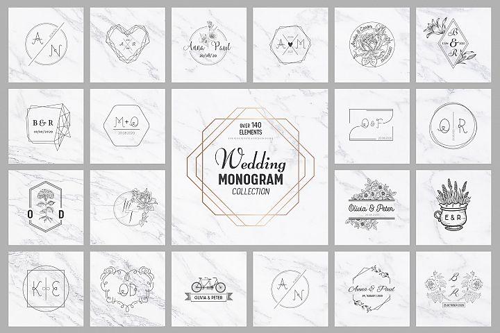 Wedding Monogram Collection
