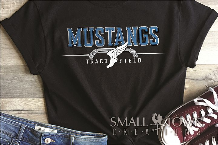 Mustang, Mustang Track and Field, Sport, PRINT, CUT & DESIGN