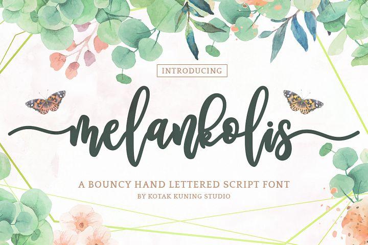 Melankolis Script