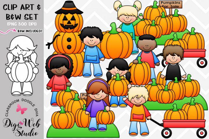 Clip Art / Illustrations - Pumpkin Patch Kids