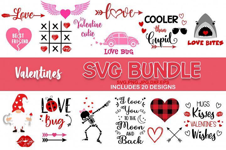 Valentines day SVG Bundle Love SVG Files v2, svg bundle