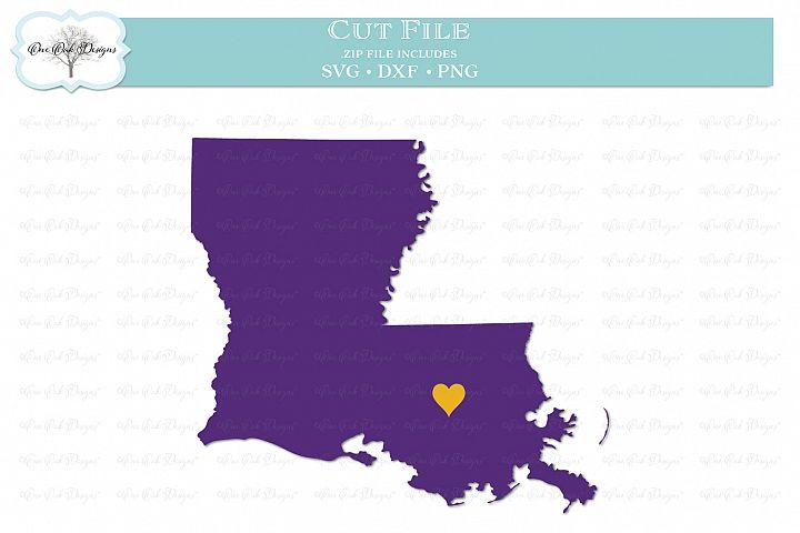 Louisiana with Heart