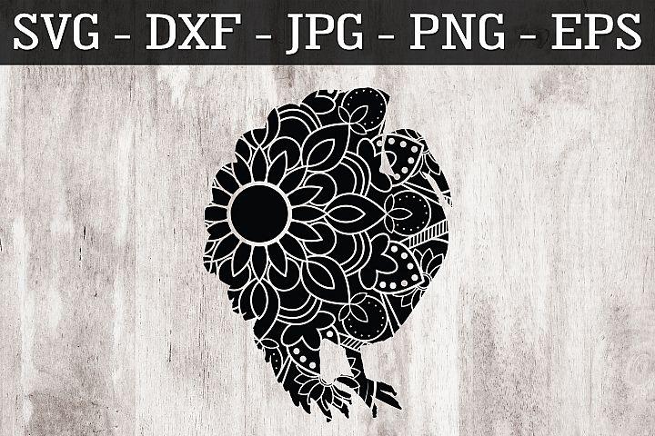 Turkey Mandala SVG EPS PNG Zentangle Turkey SVG