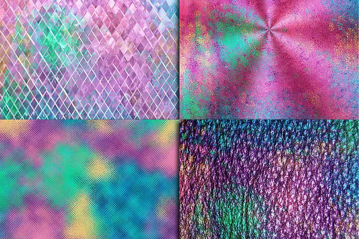 Mermaid Textures Digital Paper - Free Design of The Week Design 3