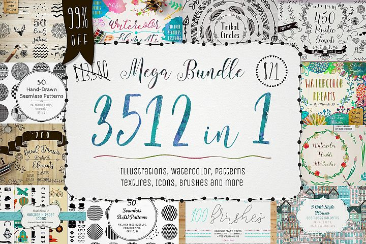 3512 in 1 ~ Mega Bundle ~ 99%OFF