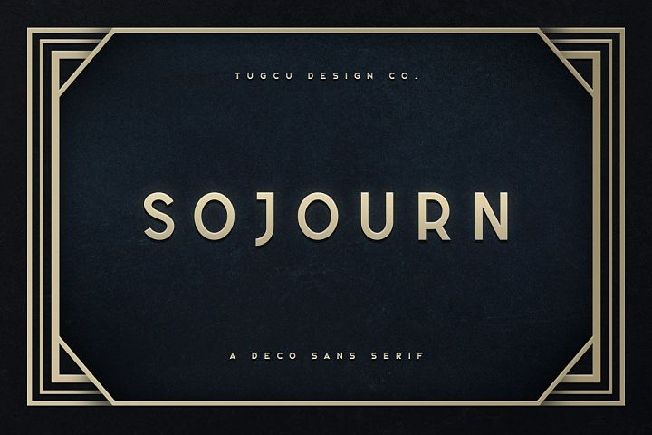 Sojourn Typeface