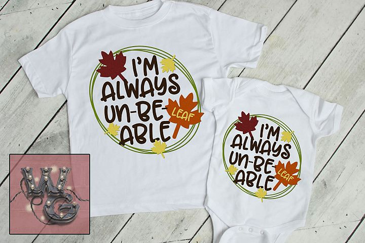 Always Unbeleafable SVG DXF PNG EPS JPG Commercial