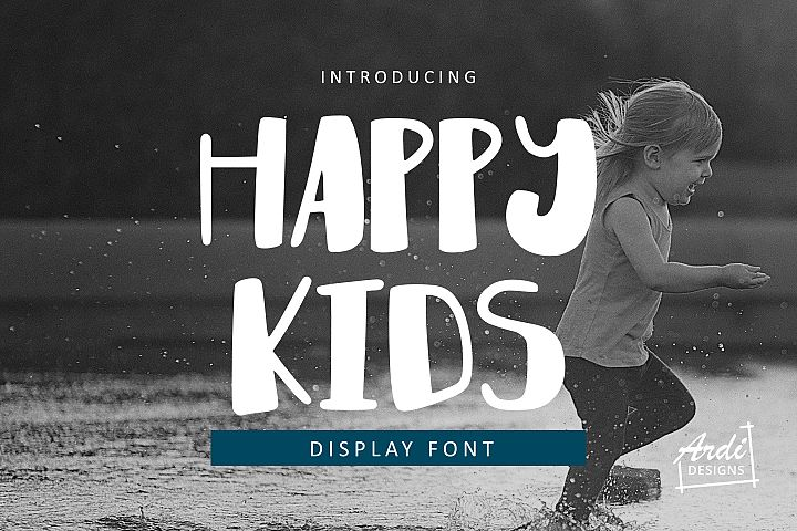 Happy Kids Font