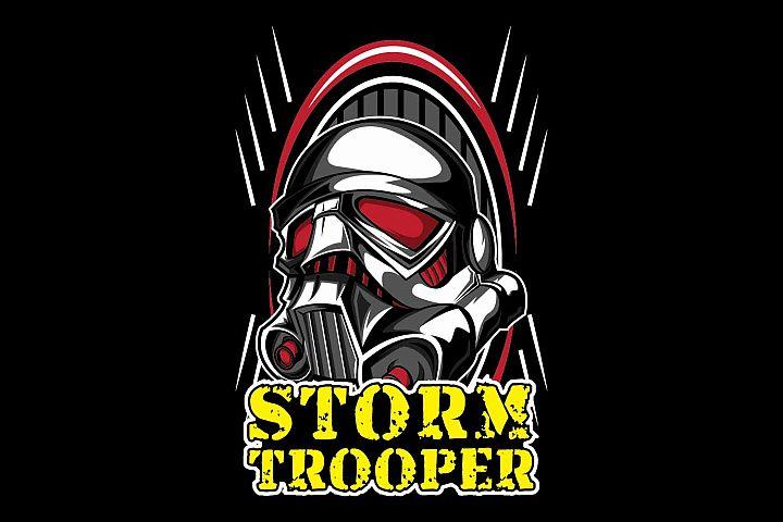 Trooper cloth design template