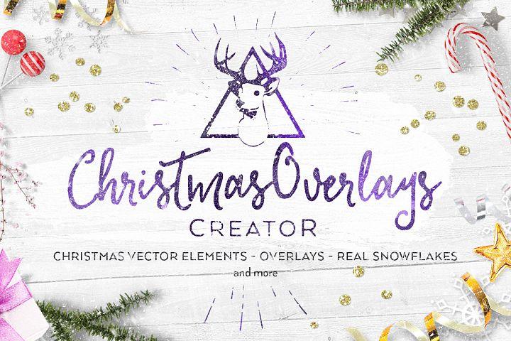 Christmas Overlays Creator