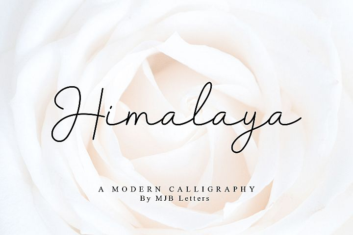Himalaya Modern Calligraphy