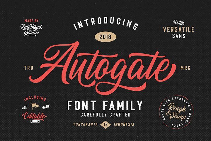 Autogate - Font Duo