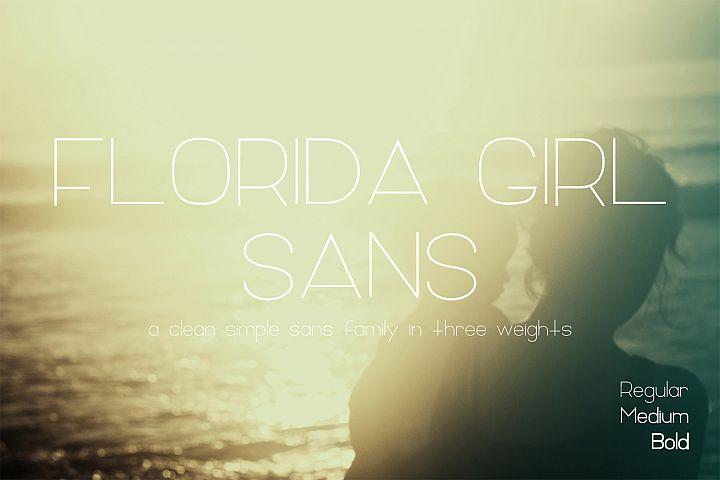 Florida Girl Sans Family