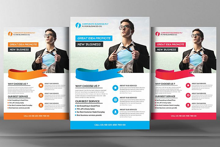 Light Business Flyer