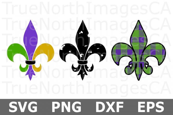 Fleur De Lis - A Mardi Gras SVG Cut File