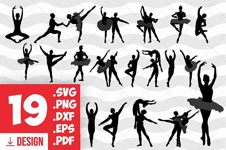 Ballet clipart ballet girl dancer svg ballerina silhouette