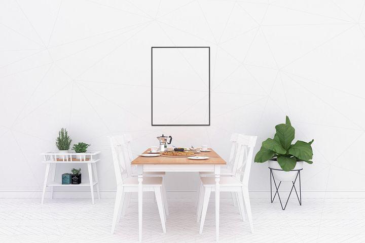 Interior mockup - blank wall mock up example image 2