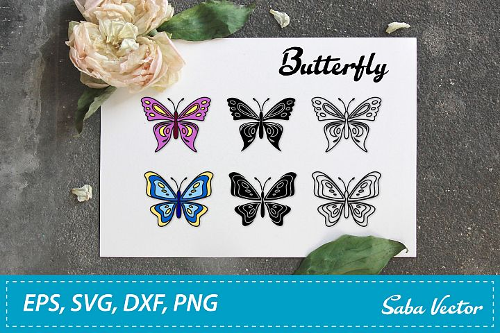 Butterfly SVG digital file