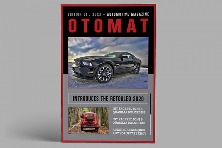 Automotive Magazine Template - Otomat