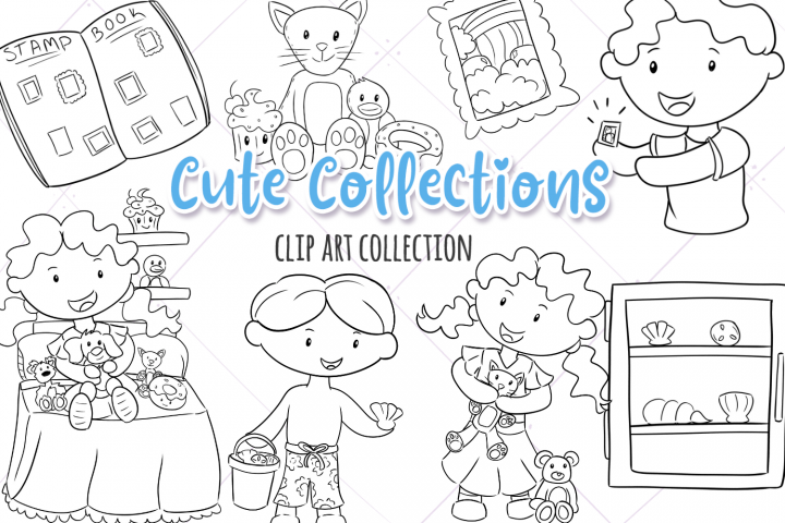 Cute Collections Digital Stamps