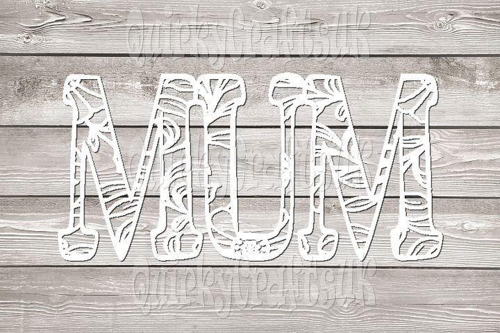 2 sets of MUM floral papercutting templates PNG/PDF/SVG/DXF formats