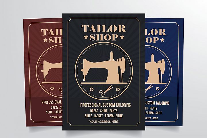Tailor Shop Flyer Template