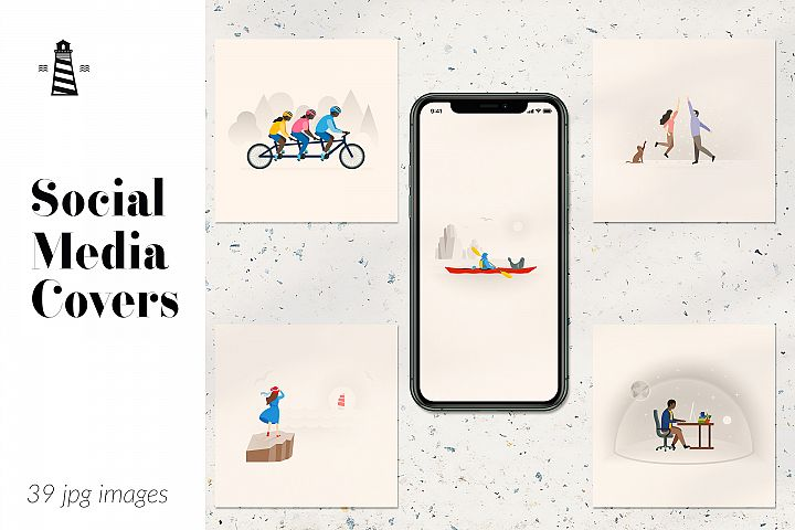 Instagram Post Covers, Instagram Story Templates