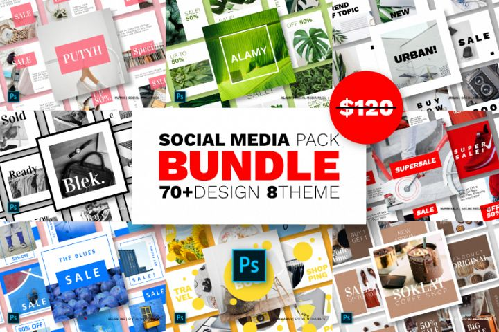 Social Media Bundle - Vol.02