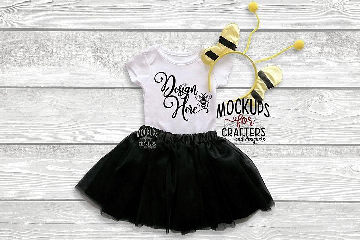 Baby Bodysuit, baby one piece - Bumblebee accessories