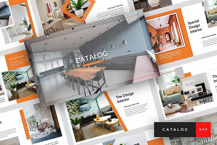Catalog - Furniture PowerPoint Template