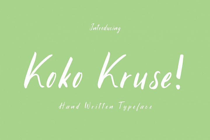 Koko Kruse!