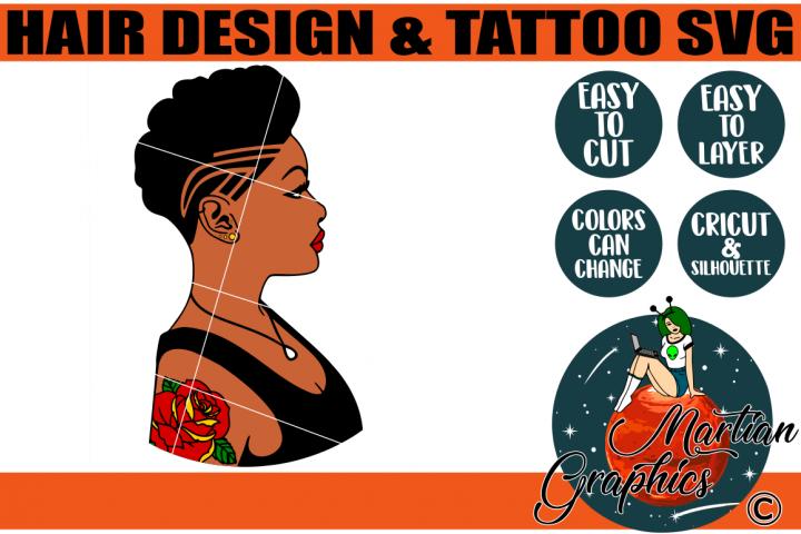 Hair Design & Tattoo SVG