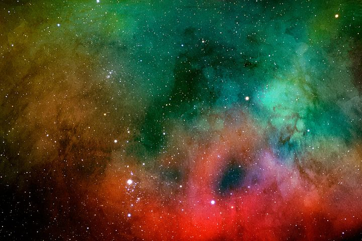 Space Watercolor Backgrounds - Free Design of The Week Design 11