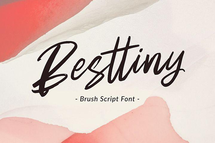 Besttiny - Brush Script