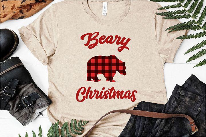 Beary Christmas, SVG Merry Christmas SVG
