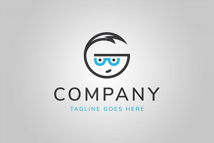 Geek G Letter Logo Template