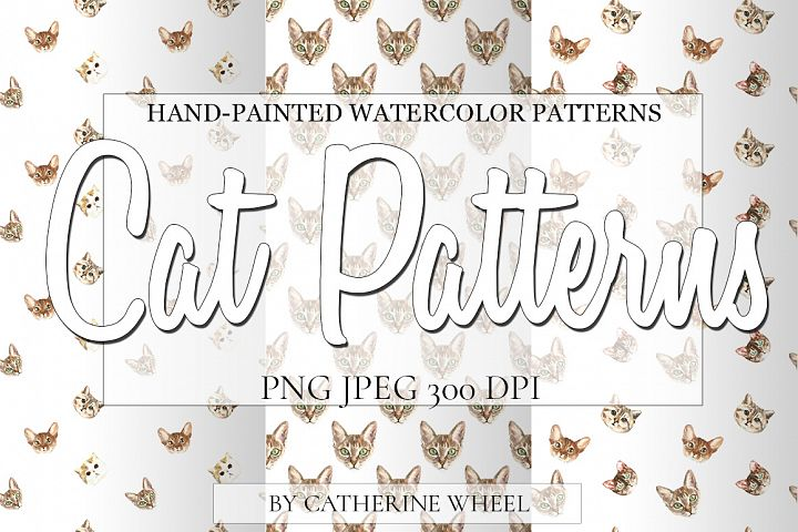 Free Cat Patterns example 1