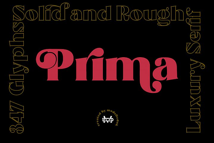 Prima - Luxury Typeface