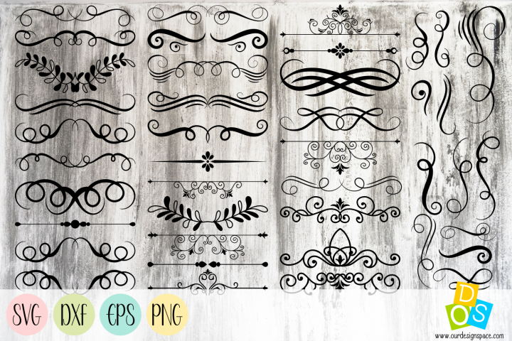 Dividers For Quotes and Sayings SVG, DXF, EPS and PNG file