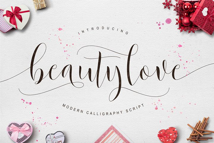 Beautylove Script - Free Font of The Week