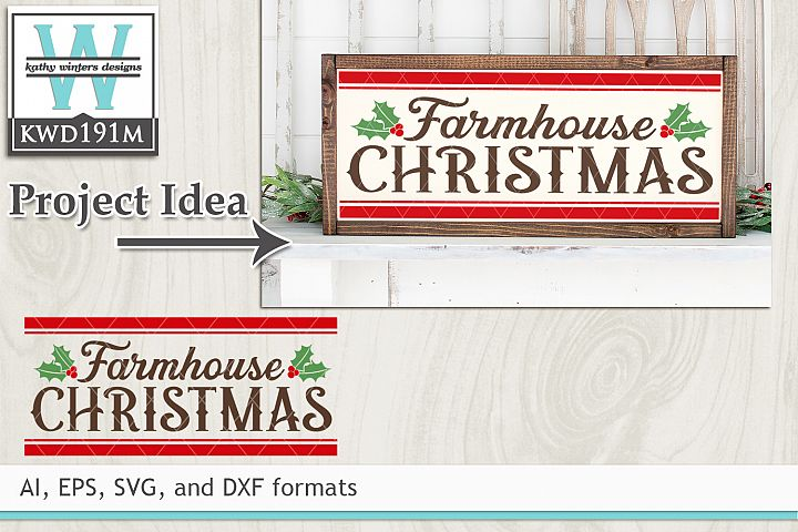 Christmas SVG - Farmhouse Christmas