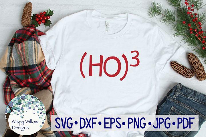 Ho 3 | Ho Ho Ho |Christmas SVG