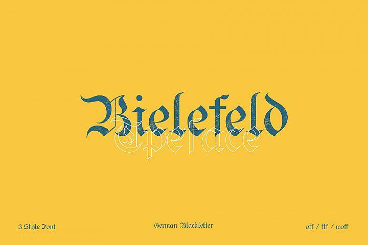 Bielefeld Typeface font