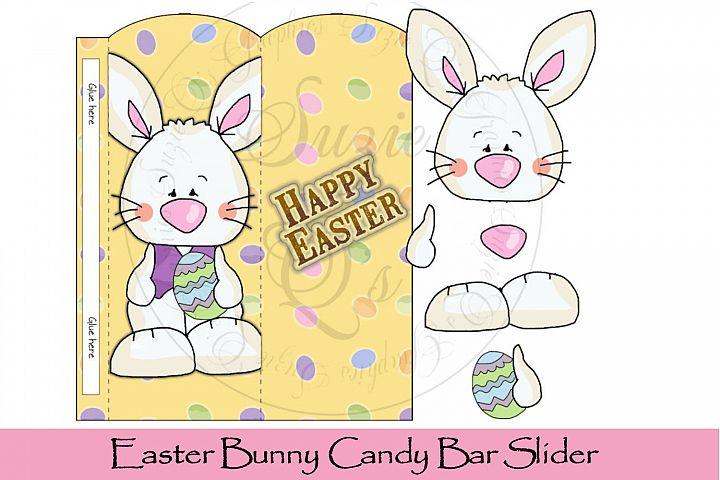 Easter Bunny Candy Bar Slider